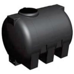 Glatter unterirdischer Tank